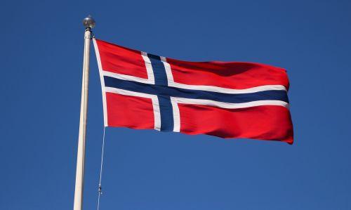 norwegian flag emblem norwegian
