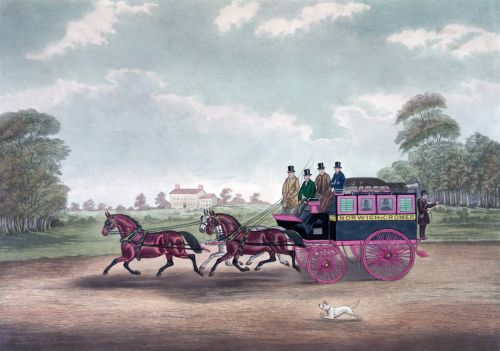 Norwich Coach Painting