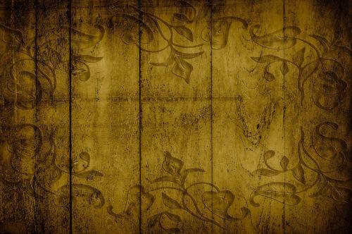 nostalgic on wood vintage
