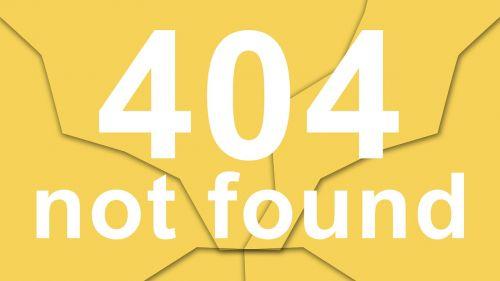 not found 404 error file not found
