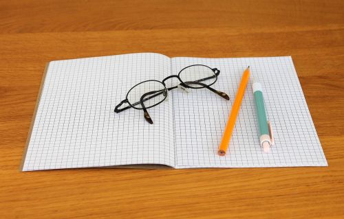 note notebook writing implements