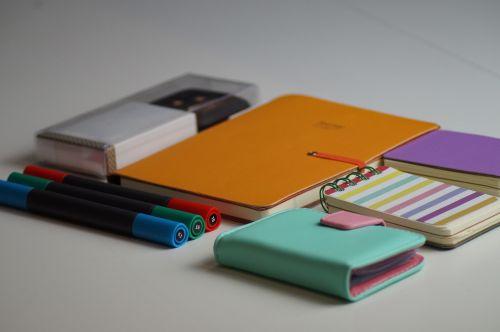 notebook cards design
