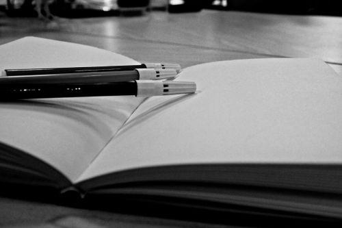notebook pen write