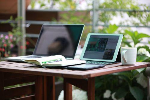 notebook ipad freelance
