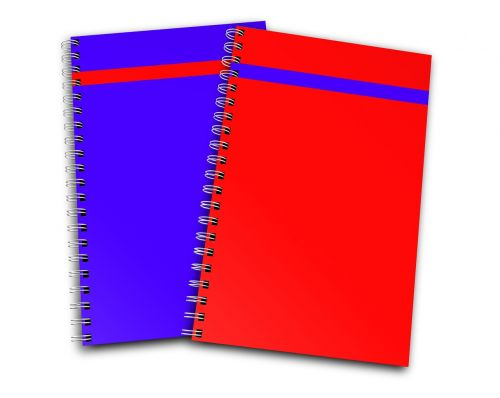 notebook report stationary