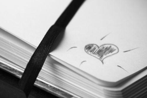 notebook address book point