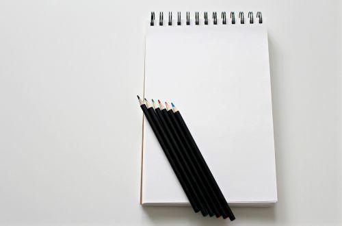 notebook paint pens