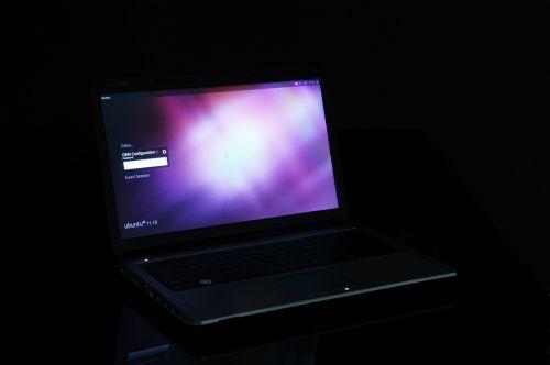 notebook computer display