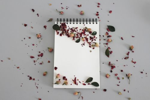 notebook note leave