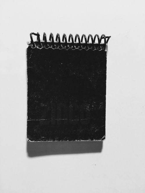 notebook agenda notes