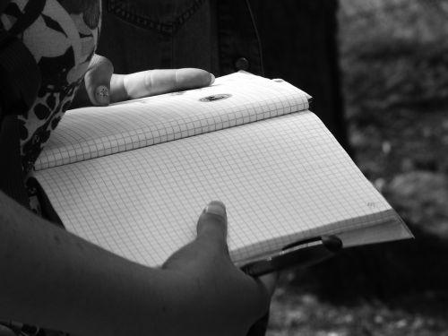 notebook book paper