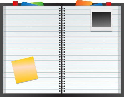 nešiojamojo kompiuterio, filofax, folija, iškarpų albumas, valdomas & nbsp, popierius, išlenktas & nbsp, popierius, puslapis, puslapiai, popierius, knyga, polaroidas, nuotrauka, lipnus & nbsp, pastaba, pastaba, menas, iliustracija, Scrapbooking, nešiojamojo kompiuterio, valdomas popierius, filofax