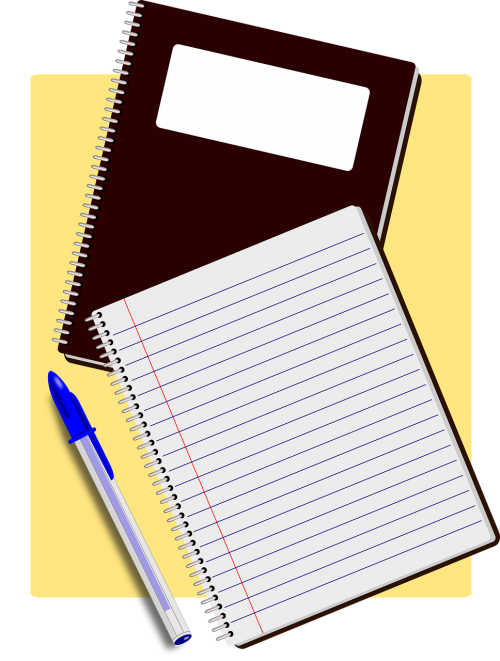 notebooks notes agenda