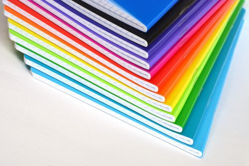 notebooks color colored