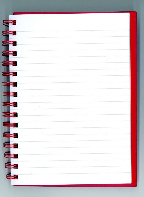 notepad booklet paper