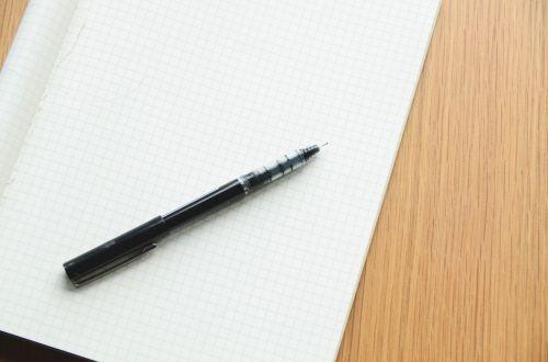 notepad pen write