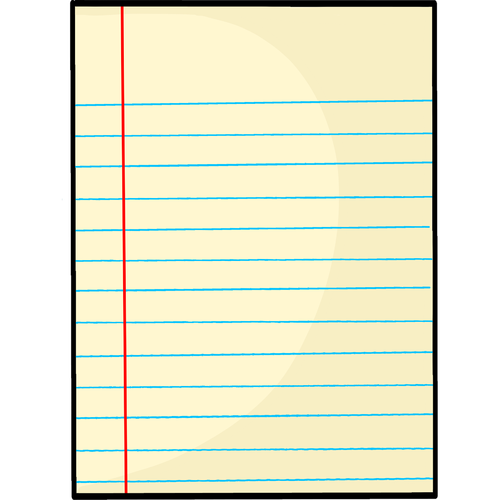 notepaper  lined paper  stationery