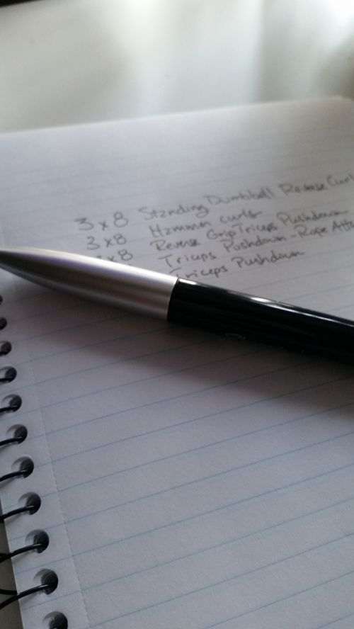 notes fitness pen
