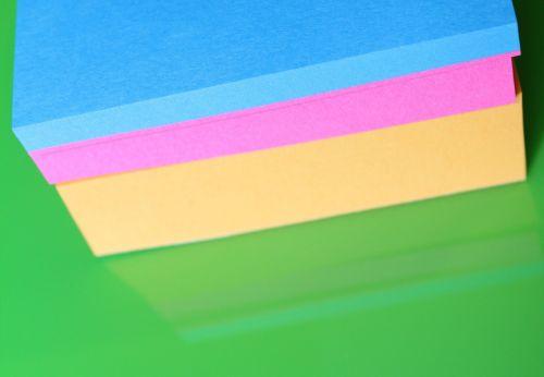 notes sticky paper