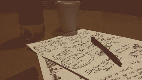 notes pen write