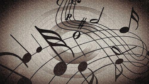 Music Notes Dancing