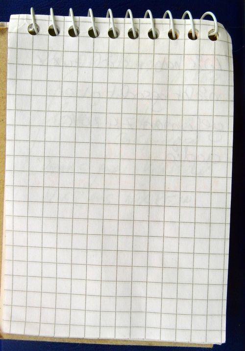 notizbblock notes blotter