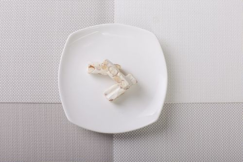 nougat almond dish