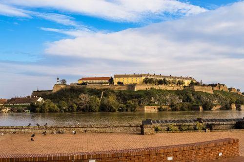petrovaradin fortress danube river
