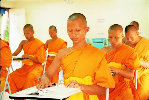 novices buddhist learn