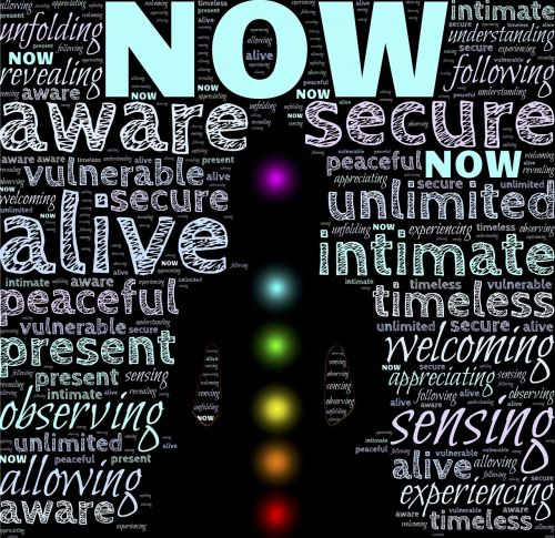 now awareness consciousness