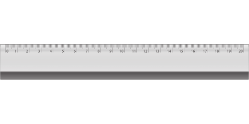now measurement the ruler