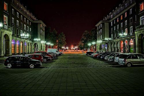 nowa huta street city