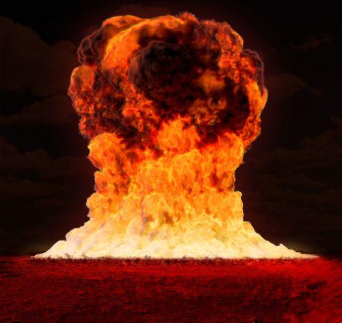 nuclear bomb war