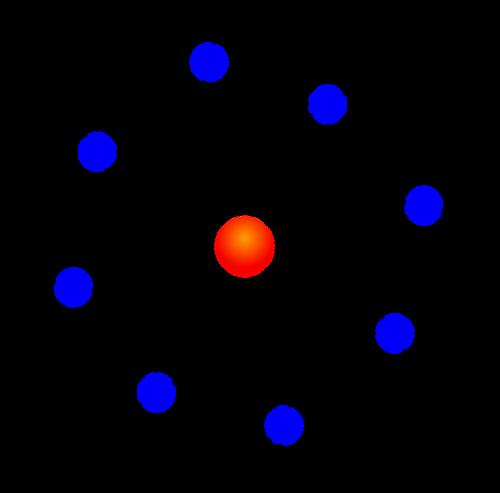 nucleus atom diagram