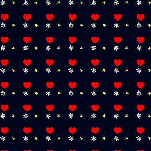 night,snowflake,flake,snow,season,winter,heart,red,night