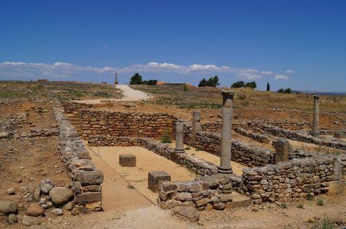 numancia roman remains archeology