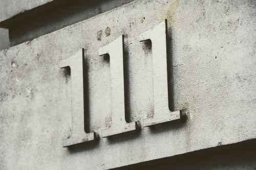 number 111 number code