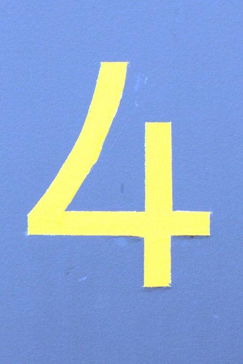 number digit house number