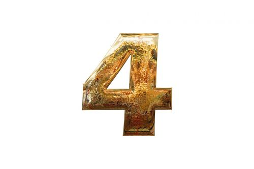 number four 4