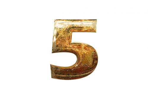 number digit five