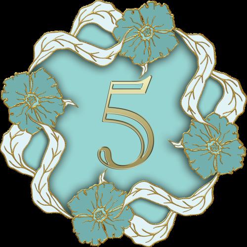number 5 five