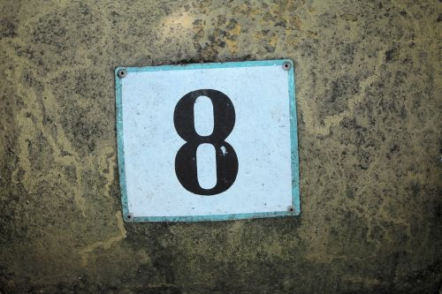 number old rusted