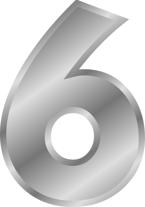number six 6