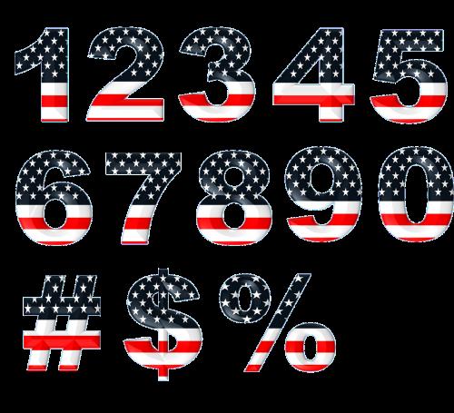 numbers numeric stars