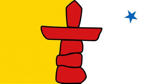 nunavut flag territory