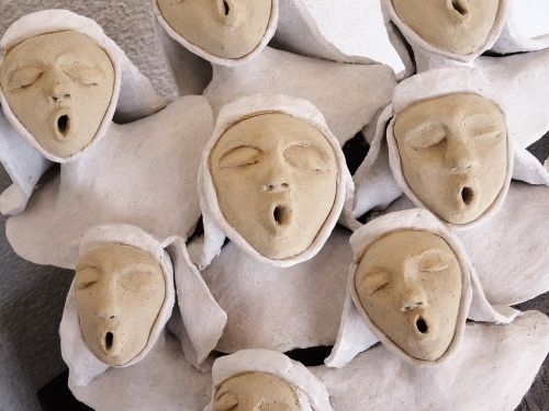 nuns singing choir