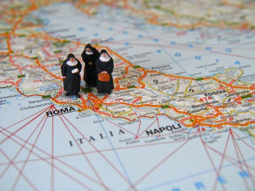 nuns italy travel