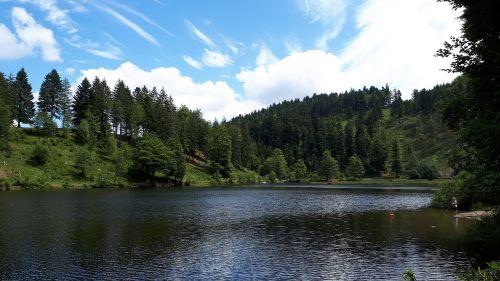 nuns matt pond lake pond black forest
