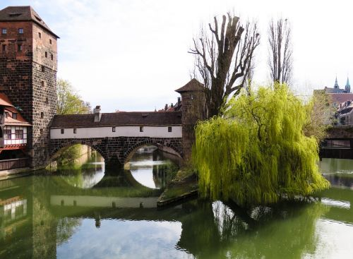 nuremberg hangman's bridge old town