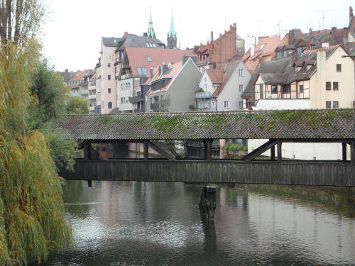 nuremberg old town pegnitz